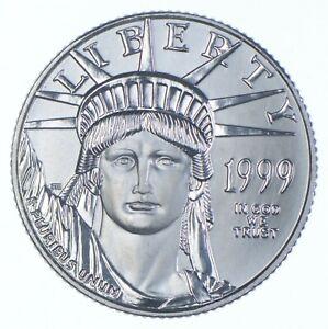 PLATINUM - 1999 - $25 1/4 Oz. - American Platinum Eagle - Rare *425