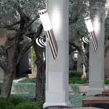 à 2 pièces Set Inox extérieur Applique murale lampe de jardin CAPTEUR éclairage