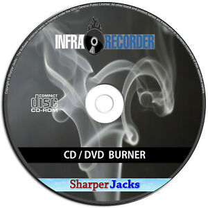 DVD CD Disc Burning Copy Software - ISO Burner Program - Win 10/8.1/8/7/Vista/XP