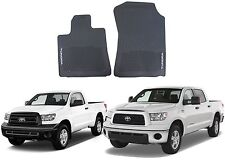 Genuine OEM Front All Weather Floor Mats For 2007-2013 Toyota Tundra New USA