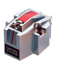 Benz Micro MC Silver High Output MC Cartridge - Maroon Box with Accessories
