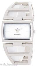 Anne Klein Womens White Dial Metal Bracelet Watch 10/7991