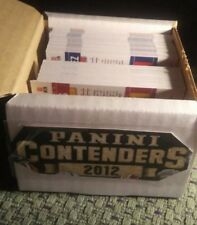 2012 Panini Contenders Football Base Set (1-100) CHEAP
