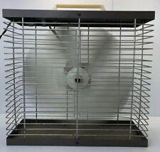 "Vintage Hunter Box Fan 14"" 2 Speed Metal 11009 Mid Century Working"