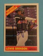 2015 Topps Heritage Minors, High Desert Mavericks - LEWIS BRINSON - autographed
