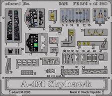 Eduard 1/48 A-4M Skyhawk Cockpit+Seatbelt (Hasegawa) FE350