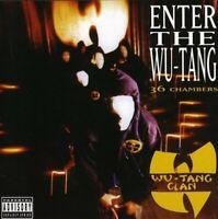 WU TANG CLAN ENTER THE WU TANG(36 CHAMBERS EXPLICIT HIPHOP CD)