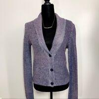 American Eagle Knit Multi-Color 3 Button Cardigan Sweater Size S