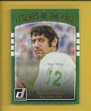 Joe Namath 2016 Panini Donruss Legends of the Fall Insert Card # 1 Jets Football
