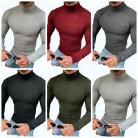 Megaman Herren Langarm Pullover Sweatshirt Rolli Sweater in Premium Qualität