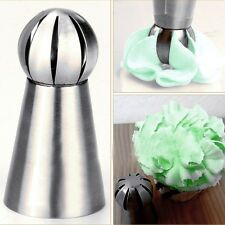 1PC Sphere Ball Shape Cream Icing Piping Nozzles Pastry Tips Cupcake Bake Tool