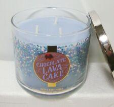 Bath & Body Works Chocolate Lava Cake 3 Wick Candle 14.5 oz
