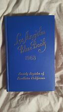 Los Angeles Blue Book. Society Register of Southern California. 1963