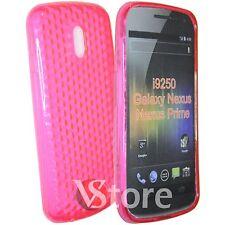 Cover Custodia Fucsia Gel TPU Per Samsung I9250 Galaxy Nexus Prime + Pellicola