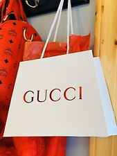 NEW GUCCI Shopping Bag /Gift Bag with GUCCI Tissue Included