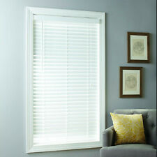 Better Homes & Gardens 2-inch Cordless Faux Wood Blinds, White