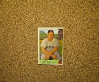 1954 Bowman Baseball #2 Jackie Jensen (Boston Red Sox)
