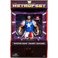 WWE Mattel Elite MACHO MAN RANDY SAVAGE RetroFest GameStop Exclusive Figure WWF