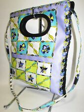EMILIO PUCCI Abstract Pattern Fabric Leather Trim Tote - Shoulder - Clutch Bag