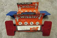 2 Vintage 1950's Toys,  1 Red & 1 Blue Wibbler Toy /St Louis/ Old Store Stock