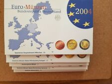 germany 2004 euro coin sets