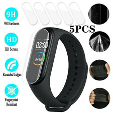 5PCS 0.1mm HD Clear LCD Full Cover Screen Protector Film For Xiaomi Mi Band 4