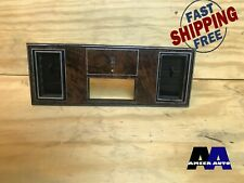 81-88 Oldsmobile Cutlass Supreme Clock Bezel With AC Vents G-Body