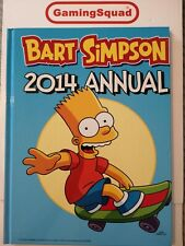 Bart Simpson 2014 Annual HB Book, Supplied by Gaming Squad