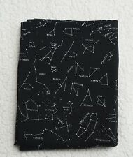 50cm Astronomical Star Signs Printed Cotton Lycra Fabric