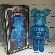 Medicom Star Wars 400% Darth Vader OLOGRAFICA chiaro BEARBRICK Be@rbrick 1pc