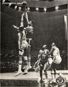Kareem Abdul Jabbar _MEGA RARE_ 1974/75 Tuborg Beer Promo Poster Milwaukee Bucks