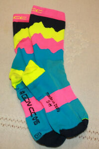GCNCC bicycle socks/GCNCC015/Black/Made in Italy