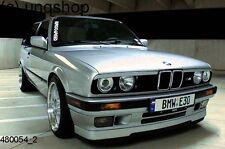 BMW E30 OEM M-TECH TYPE LIP SPLITTER 84-92   PU PLASTIC   325i Msport   NEW   UK