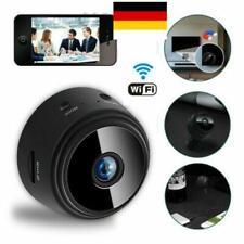 Wlan Mini HD Camera Kamera Wifi Überwachungskamera Wireless Webcam Schwarz Neu