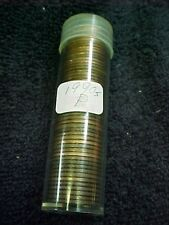 1990 P - 1999 P LINCOLN MEMORIAL PENNY ROLL - SEE DESCRIPTION FOR DATES