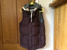 Plum super dry quilted gilet size L