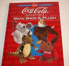 COCA COLA Collectible Bean Bags and Plush Official Coca Cola Series Book