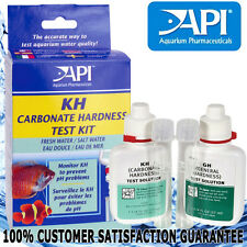API Aqua Aquarium Fish Tank Water GH & KH General Carbonate Hardness Testing Kit