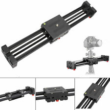 Aluminum DSLR Camera Video Slider Dolly 50cm Track Rail Stabilizer 100cm Sliding