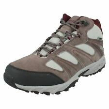 Block Heel 100% Leather Walking, Hiking Women's Boots
