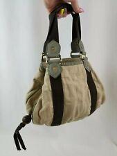 Marc Jacobs Cotton Canvas Suede Trim Bag Small Purse Handbag