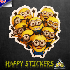 Minion Clan Group Luggage Skateboard Bike Guitar Scooter Car Vinyl Decal Sticker