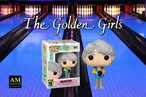 Funko Pop TV - The Golden Girls - Bowling Vestito - Dorothy - Figura - Nuovo /