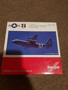 Herpa 1:200 U.S. Air Force C-130J-30 Super Hercules 'D-Day Heritage Flight'...