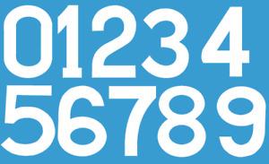 Napoli Lazio Felt 80's Football Shirt Soccer Numbers Heat Print Football Ennerre