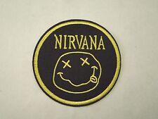 Nirvana Band Logo Iron On Patch