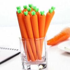 Squishy Carrot Pen Slow Rising Squishy Pencil Comfortable Pen Soft F2J8