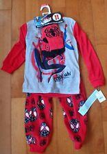 NWT Boys Spiderman 2 piece Pajama Set with Cozy Socks Size XS