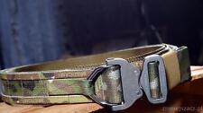 Tactical Belt  Cobra D-Ring  Molle Multicam.