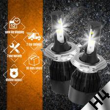 2 PCS COB H4 C6 48800LM 488W LED Car Headlight Kit Hi/Lo Turbo Light Bulbs 6000K